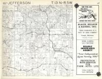 Jefferson T13N-R5W, Vernon County 1960